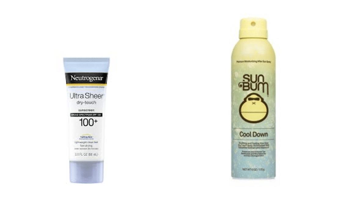 Neutrogena Sunscreen Recalled