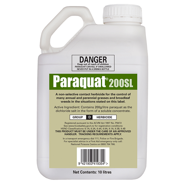 Paraquat Herbicide Parkinson